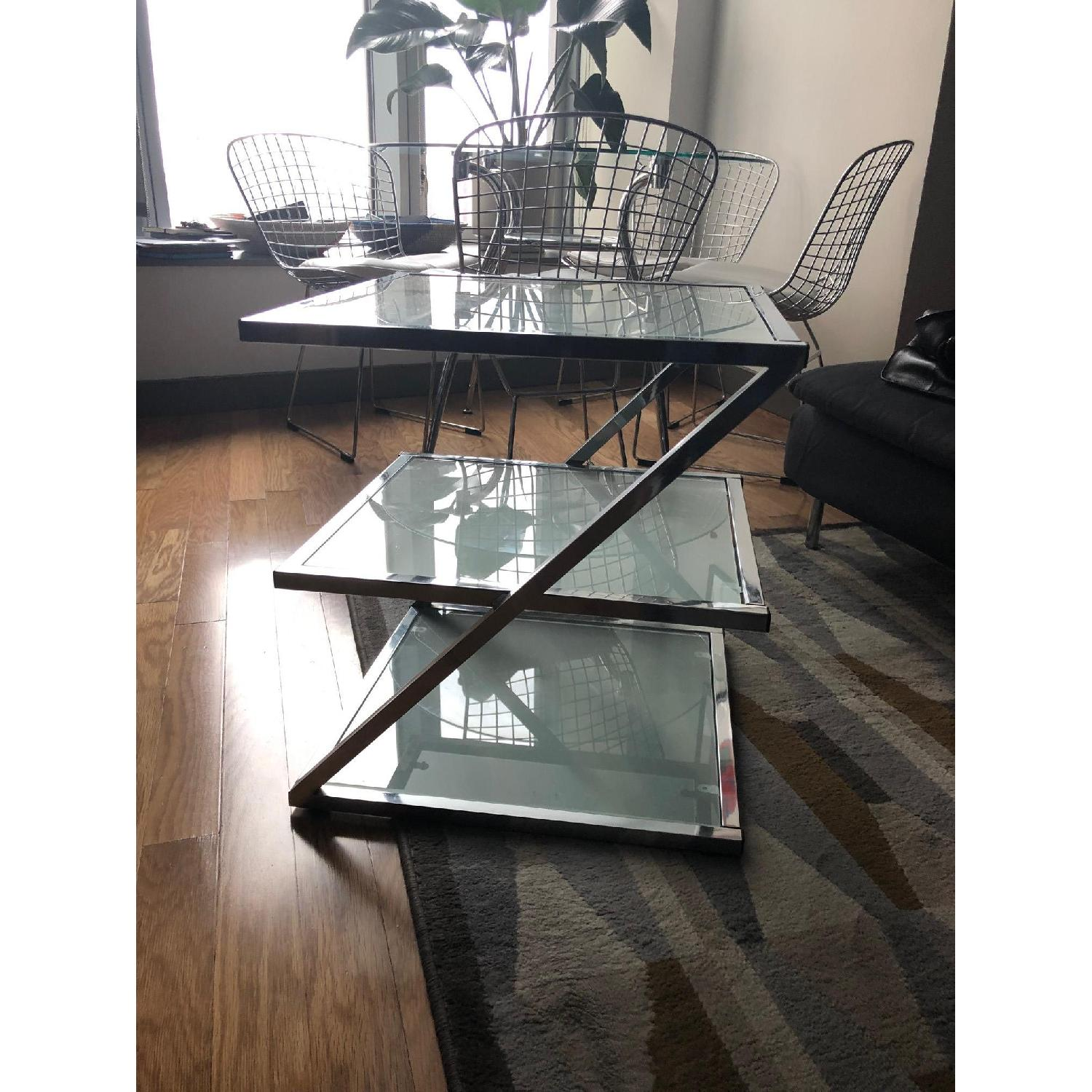 Glass Side Table-1