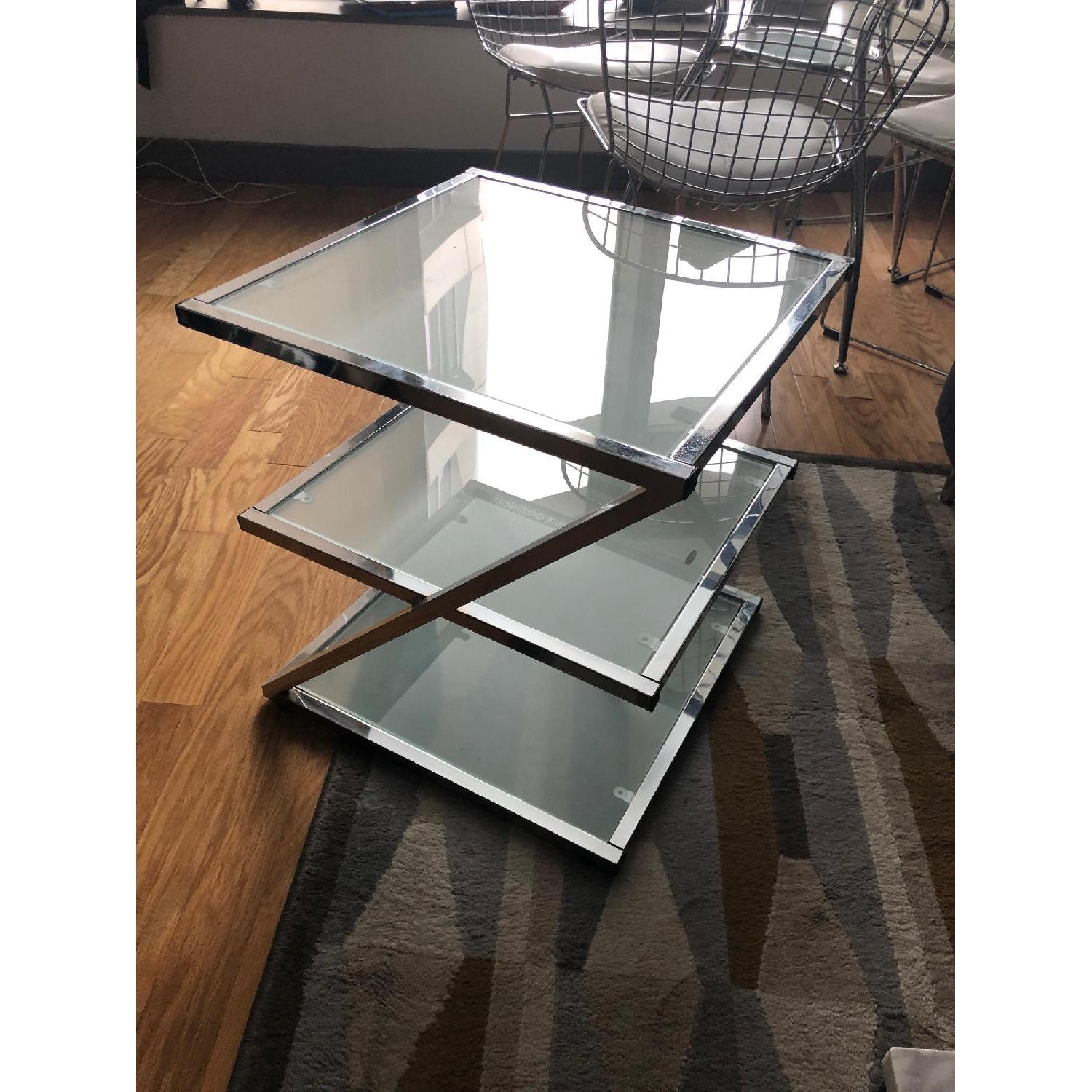 Glass Side Table-2