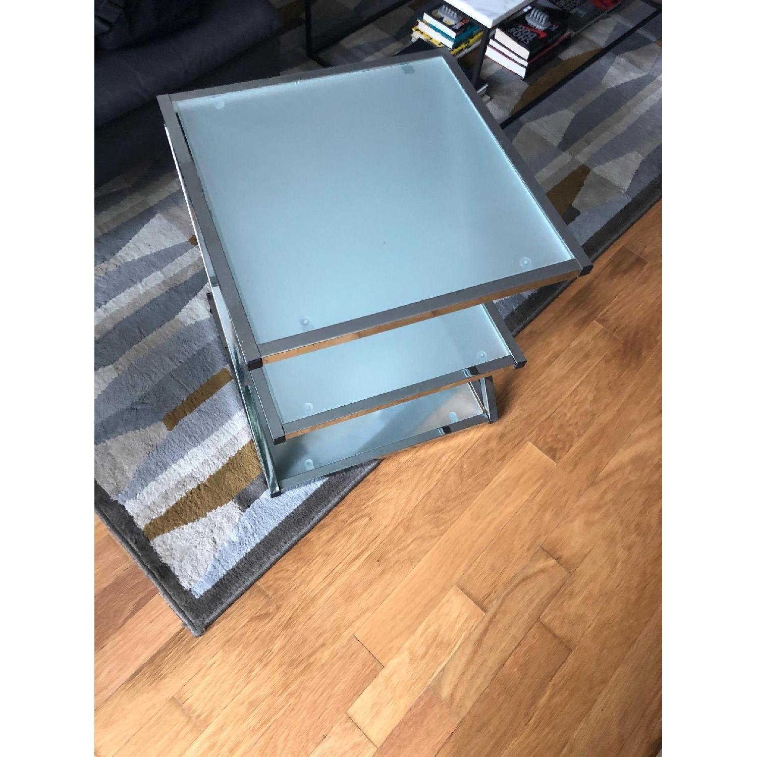 Glass Side Table-3