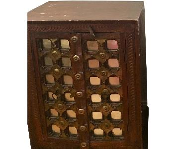 Vintage Indian Nightstands/Chests