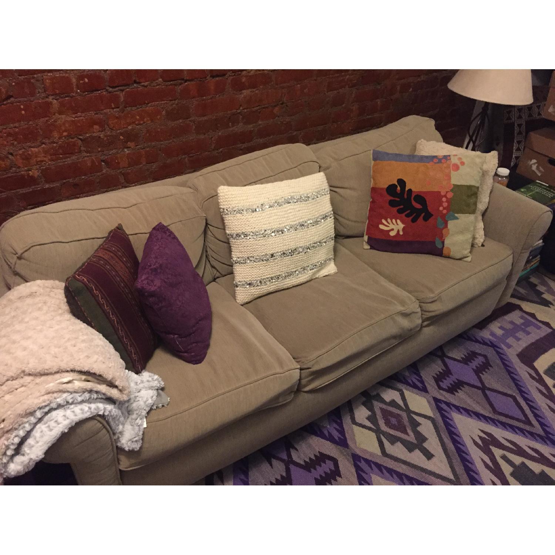 Jennifer Convertibles Queen Size Sleeper Sofa-0
