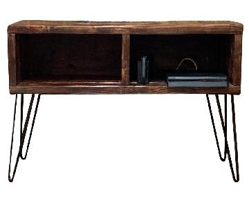 Handcrafted Entertainment Center