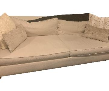 Mitchell Gold + Bob Williams Hunter Sofa in Worth-Cream