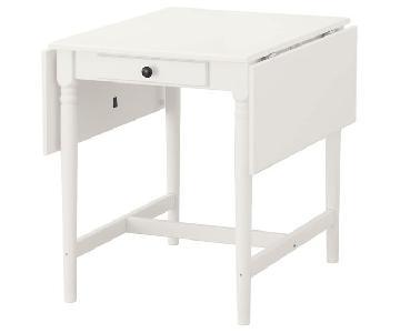 Ikea Ingatorp Drop-Leaf Table