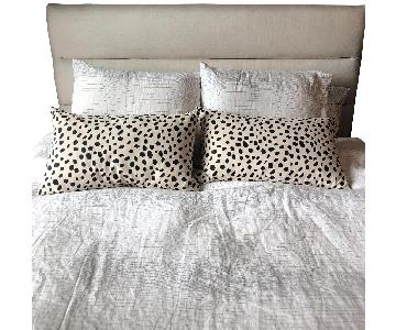 Black Rooster Dalmation Down Filler Pillows