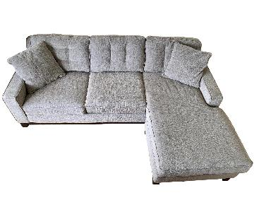 L Shape 2-Piece Sectional Sofa + Chair