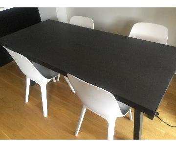 Ikea Vastanby Dining Table w/ 4 Chairs