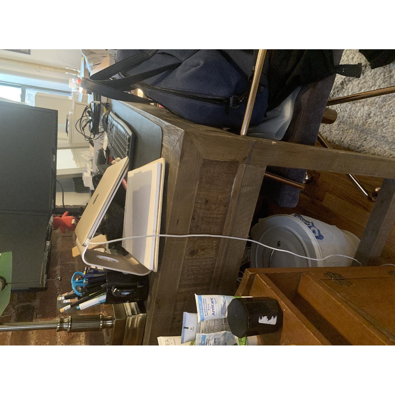 Restoration Hardware Printmaker's Wooden Desk-1