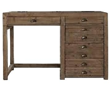Restoration Hardware Printmaker's Wooden Desk