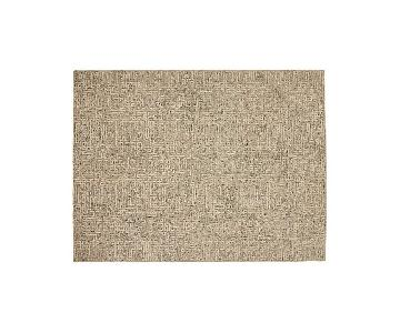 Crate & Barrel Trystan Tawny Patterned Rug
