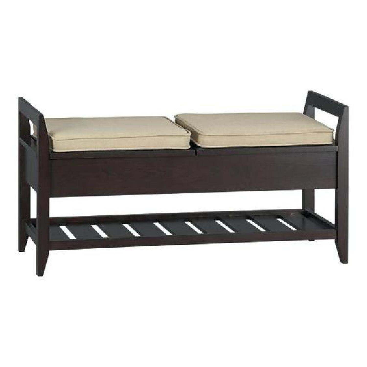 Crate & Barrel Entryway Bench w/ Storage