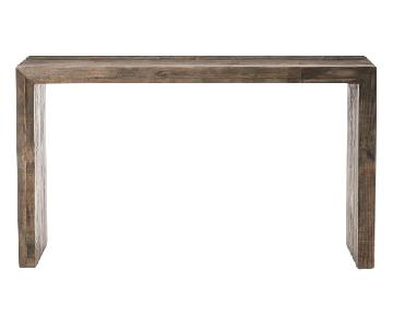 West Elm Emmerson Reclaimed Wood Console