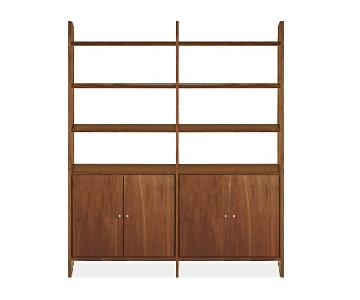 Room & Board Walnut Addison Bookcase