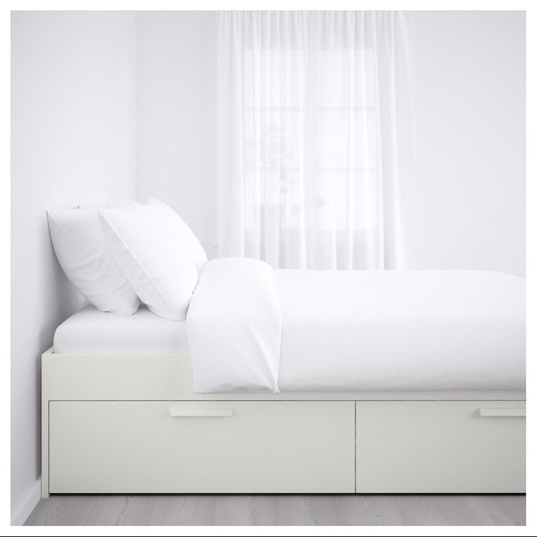 Ikea Brimnes Full Size Bed Frame-1