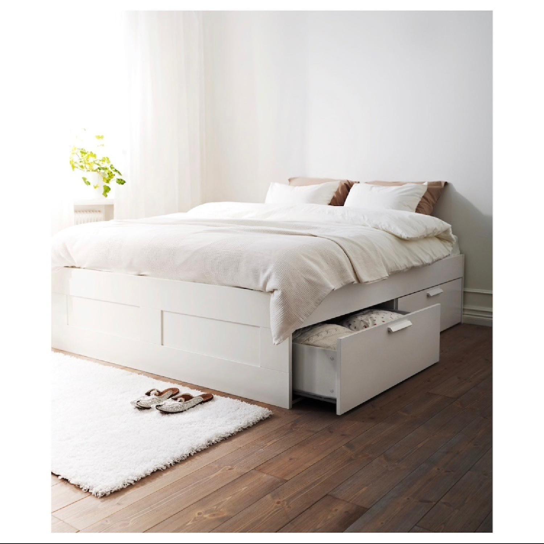 Ikea Brimnes Full Size Bed Frame-2