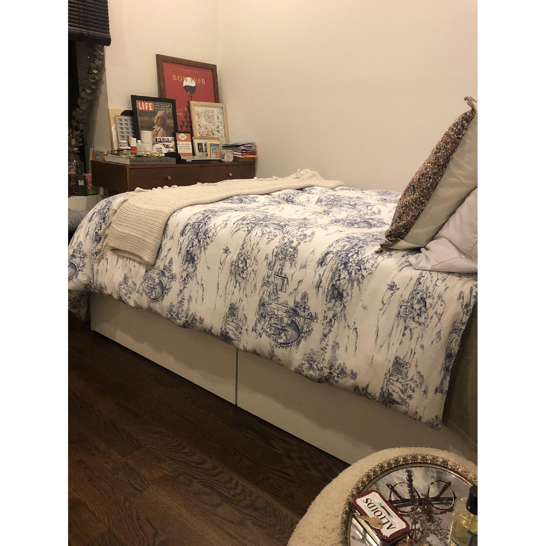Ikea Brimnes Full Size Bed Frame-3