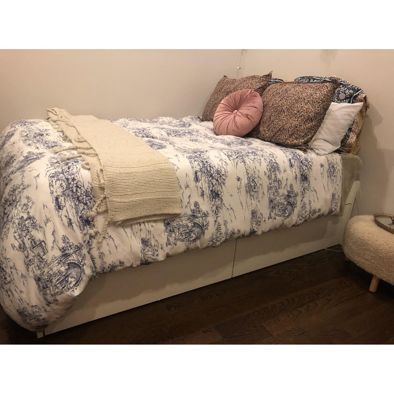 Ikea Brimnes Full Size Bed Frame-4