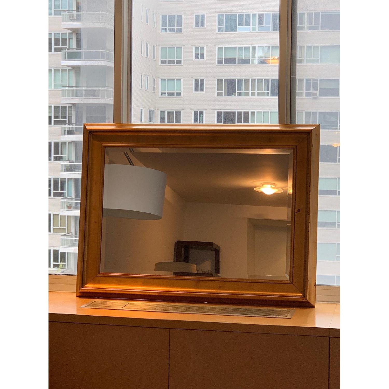 Modern Mirror in Gold Frame-0