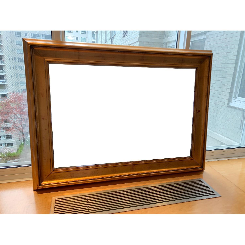 Modern Mirror in Gold Frame-1