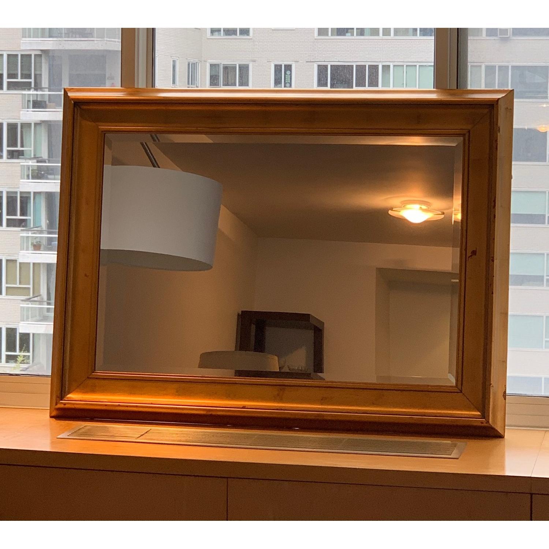 Modern Mirror in Gold Frame-3