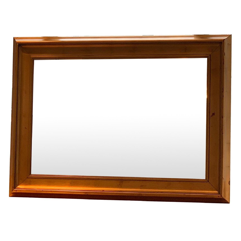 Modern Mirror in Gold Frame