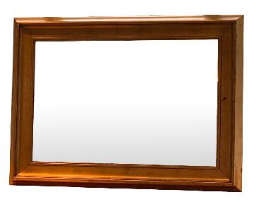 Modern Mirror in Gold Frame