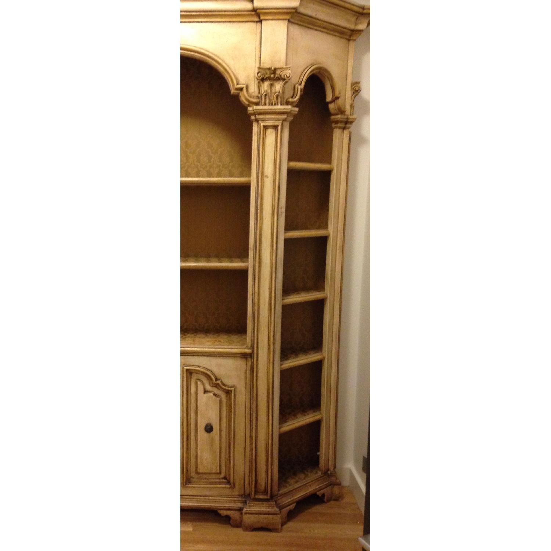 Antique Wood Bookcase/Wall Unit-1