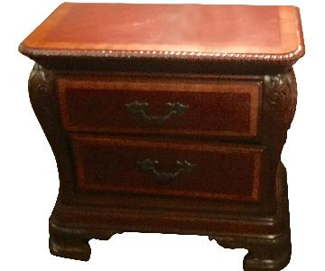 Mathis Brothers 2 Drawer Night Tables