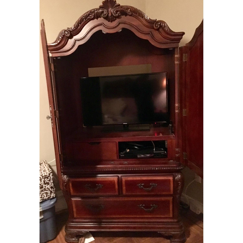 TV/Media Storage Cabinet w/ 3 Drawers-0