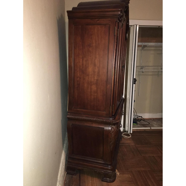 TV/Media Storage Cabinet w/ 3 Drawers-1