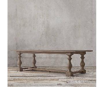 Restoration Hardware 17th C. Rectangular Dining Table