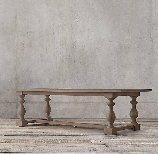 Restoration Hardware 17th C. Rectangular Dining Table