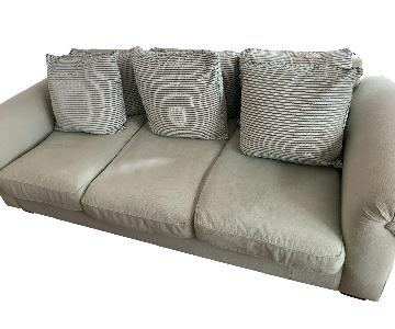 Custom Down Filled Sage Sofa