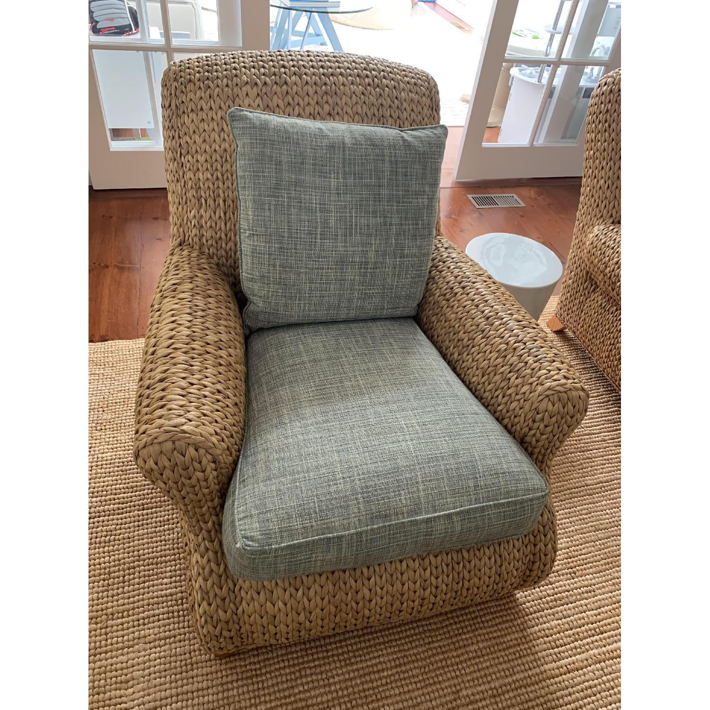 Ralph Lauren Hamptons Style Wicker Chairs-0