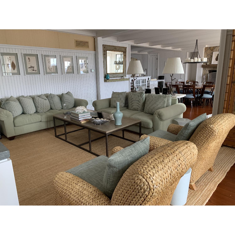 Ralph Lauren Hamptons Style Wicker Chairs-1