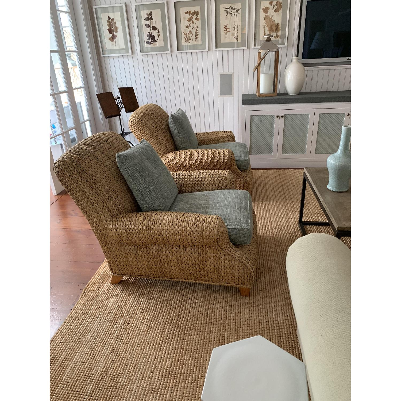 Ralph Lauren Hamptons Style Wicker Chairs-2