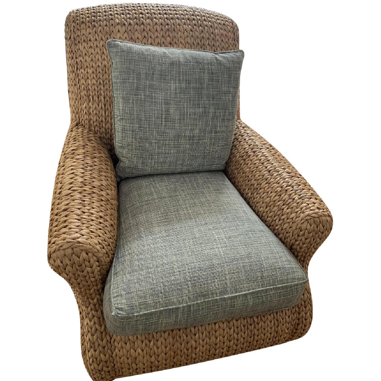 Ralph Lauren Hamptons Style Wicker Chairs