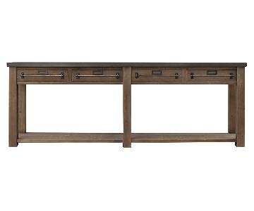 Restoration Hardware Mercantile Console Table