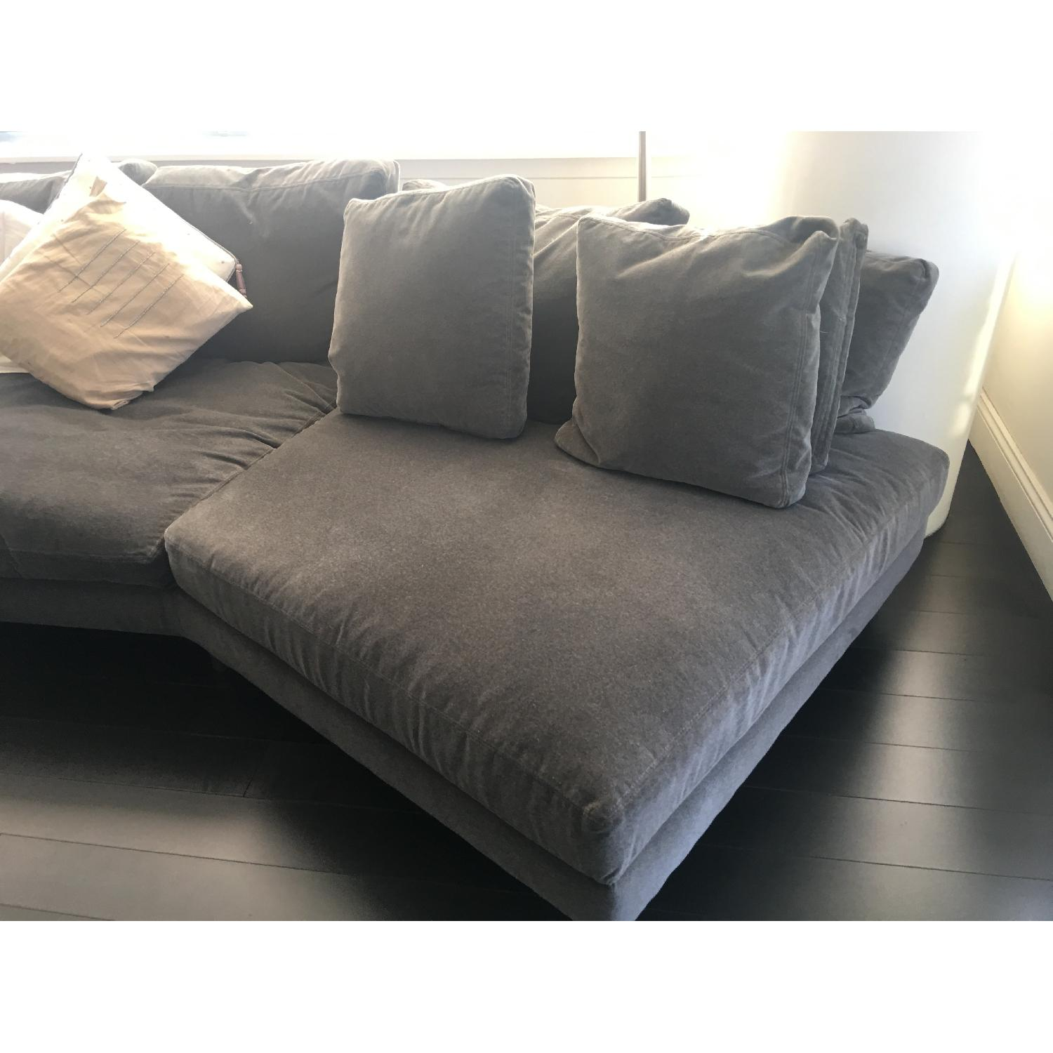 Room & Board 3 Piece Upholstered Sectional Sofa-3