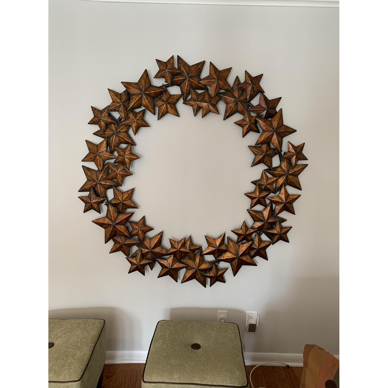 Bronze Star Wall Art-0