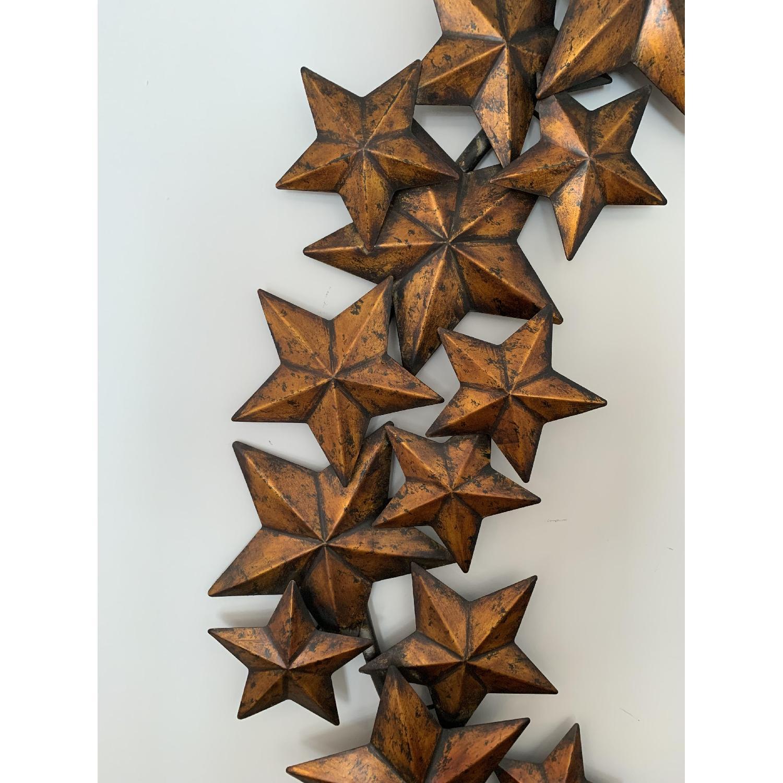 Bronze Star Wall Art-2