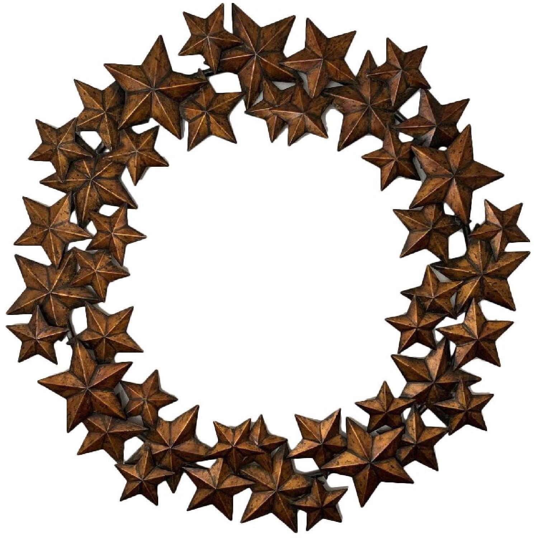 Bronze Star Wall Art