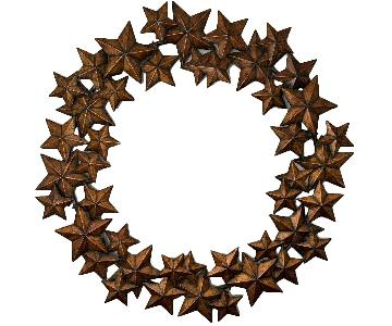 Bronze Star Wall Art