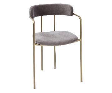 West Elm Lenox Velvet Dinning Chair