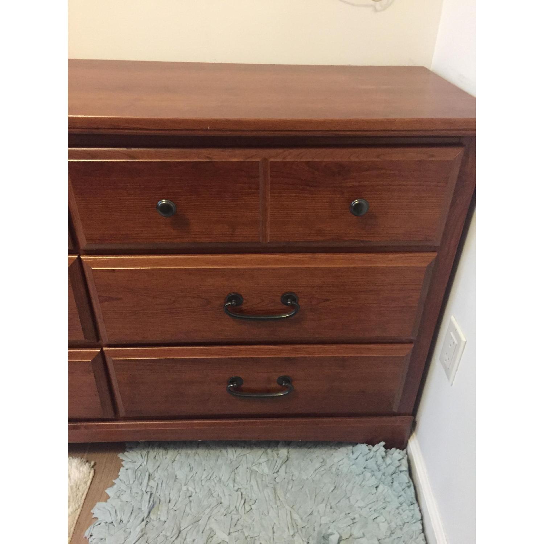 Bob's Brown Wooden 6-Drawer Dresser-2