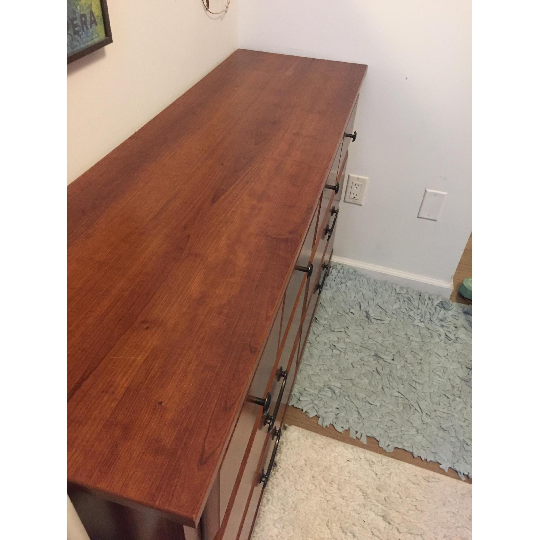 Bob's Brown Wooden 6-Drawer Dresser-3