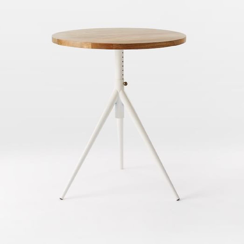 West Elm Adjustable Height Bistro Table-0