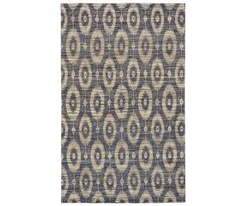 Handwoven Jute & Cotton Area Rug
