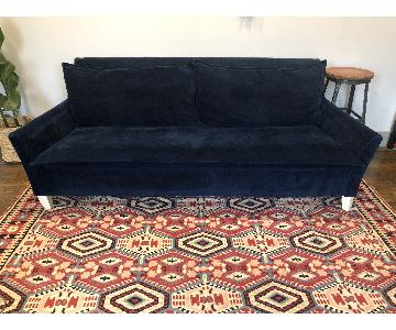 Pottery Barn Velvet Sleeper Sofa