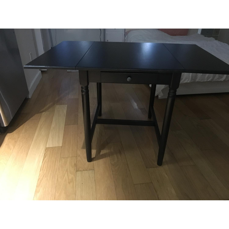 Ikea Ingatorp Drop-Leaf Table-0